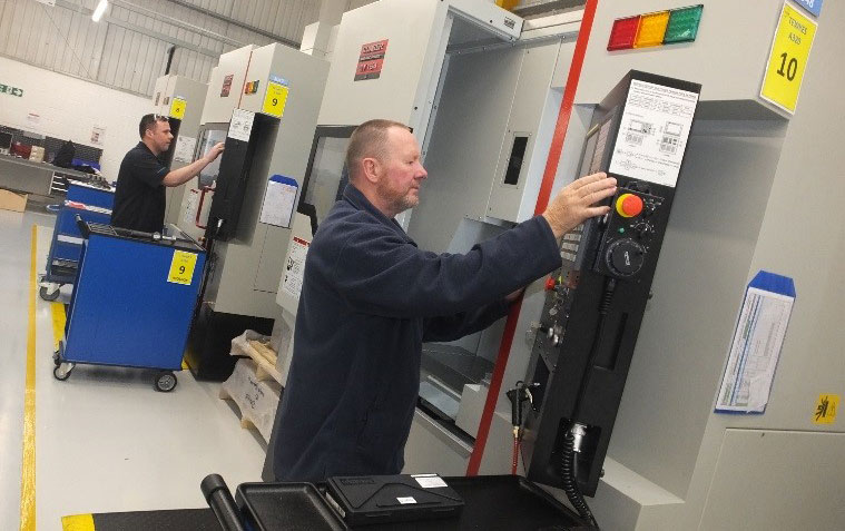 Major investment with ETG as Bowmill launches new aerospace manufacturing plant