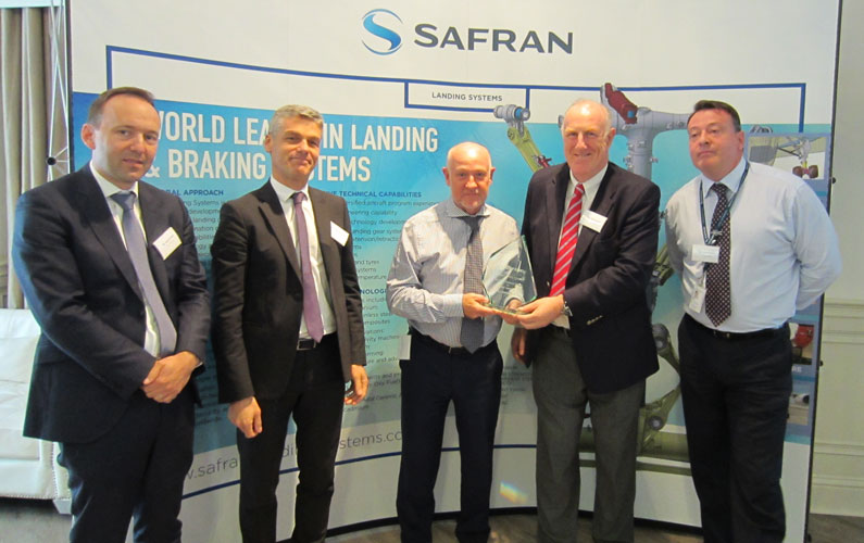 Bowmill wins Safran Supplier Award for Best Service